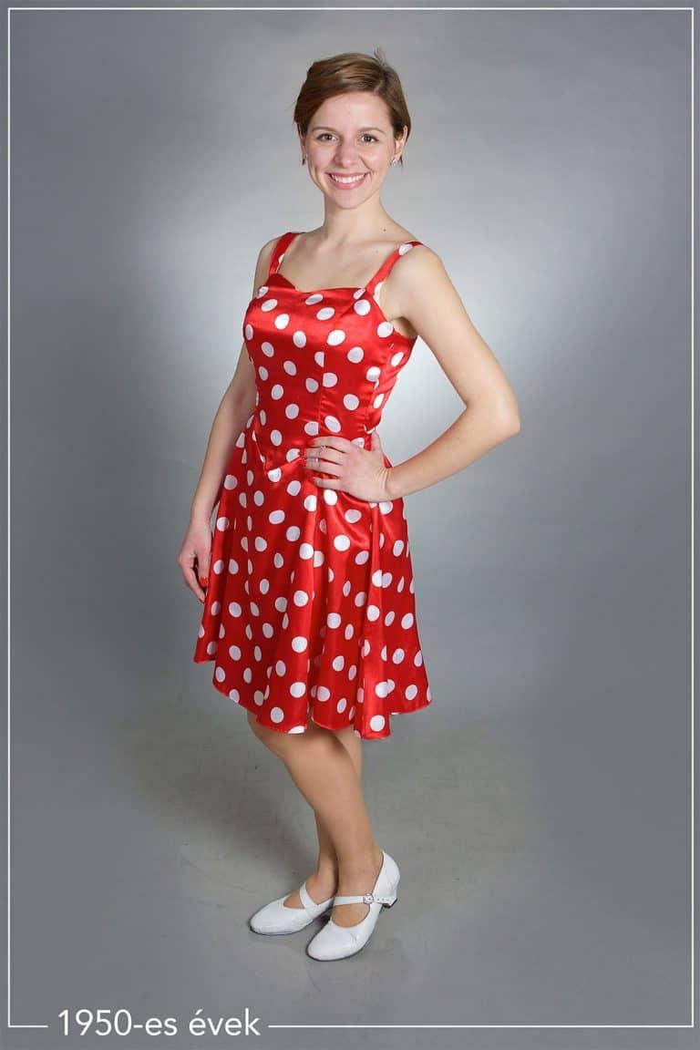 1950-es évek ruhája